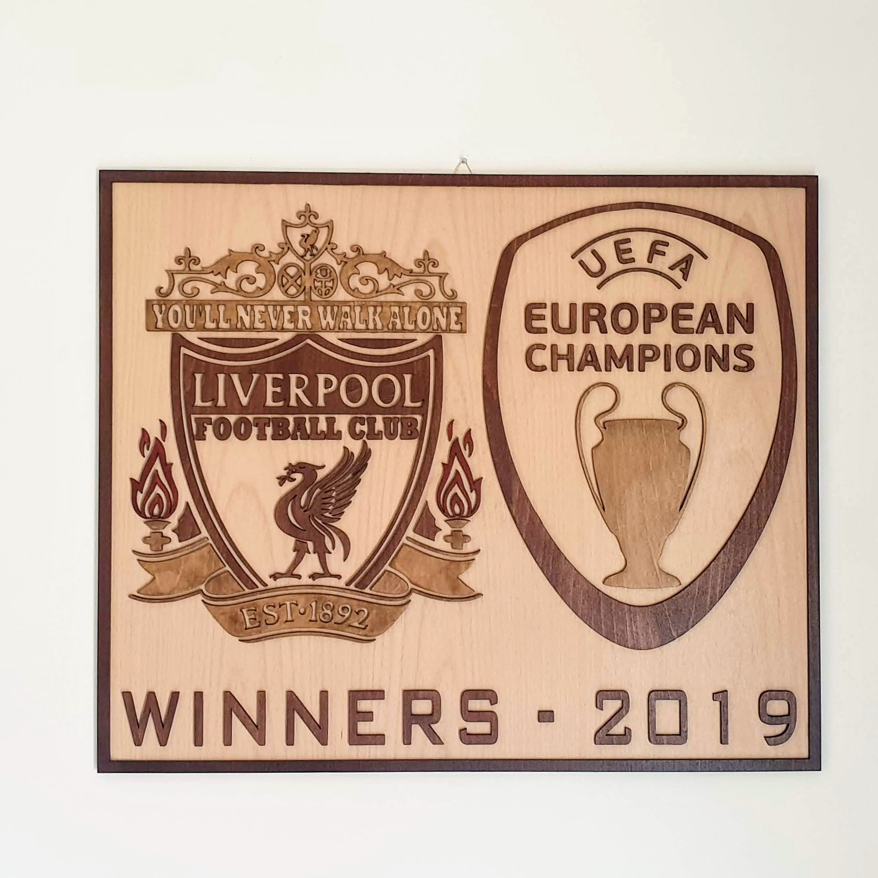 ΚΑΔΡΟ LIVERPOOL CHAMPION'S LEAGUE WINNERS